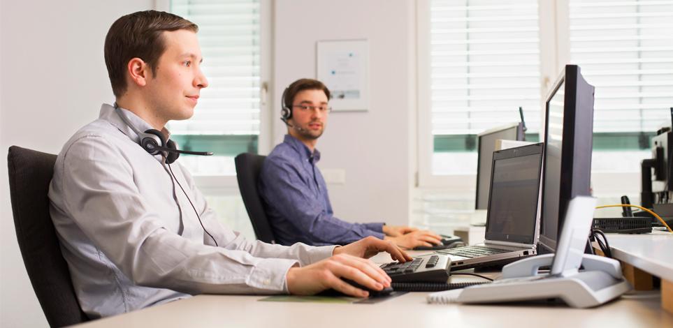 Persönlicher Kundenservice, Call Center